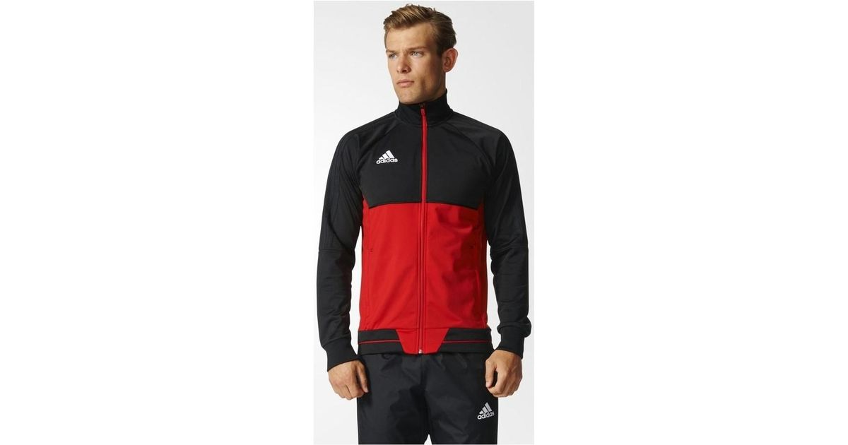 Adidas Tiro 17 Training Jacket Men's Tracksuit Jacket In Black for men
