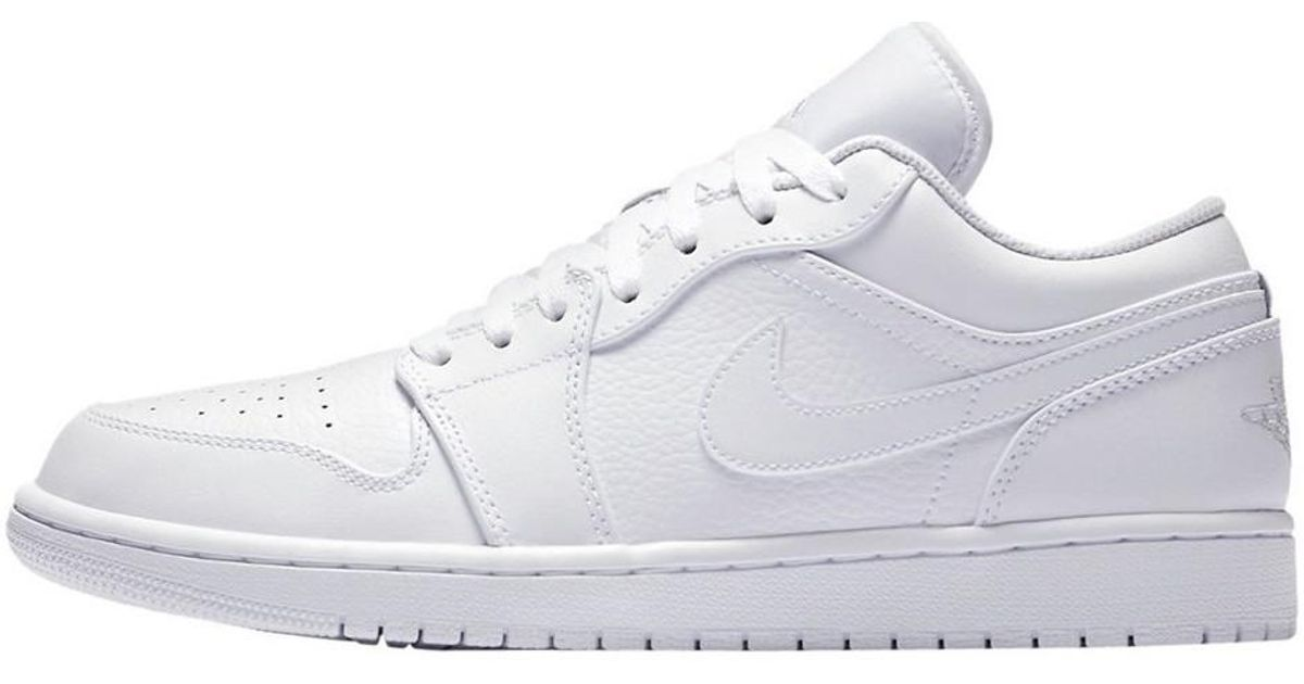 meet 38c9c 8947f Nike Air Jordan 1 Low Men's Shoes (trainers) In White for men