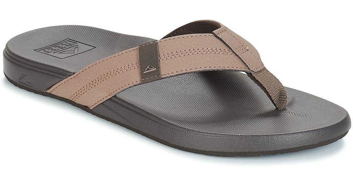 c4e14fc82672 Reef Cushion Bounce Phantom Men s Flip Flops   Sandals (shoes) In Brown in  Brown for Men - Lyst