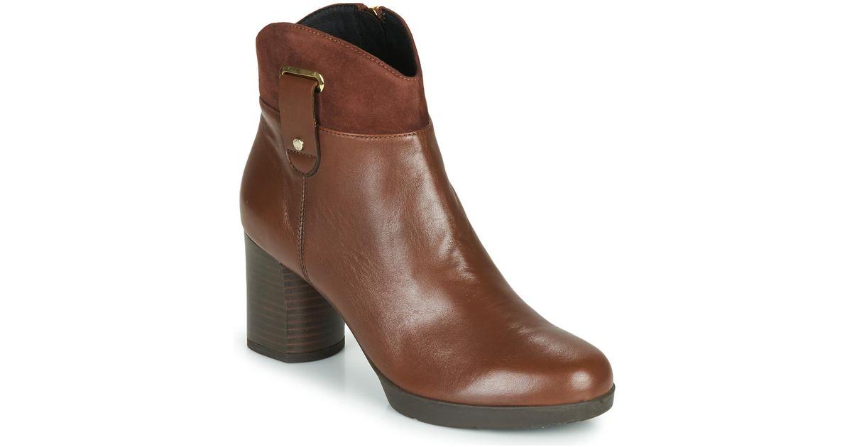 Παπούτσια Μπότες Fericelli PARMA ΣΤΕΛΕΧΟΣ: Δέρμα