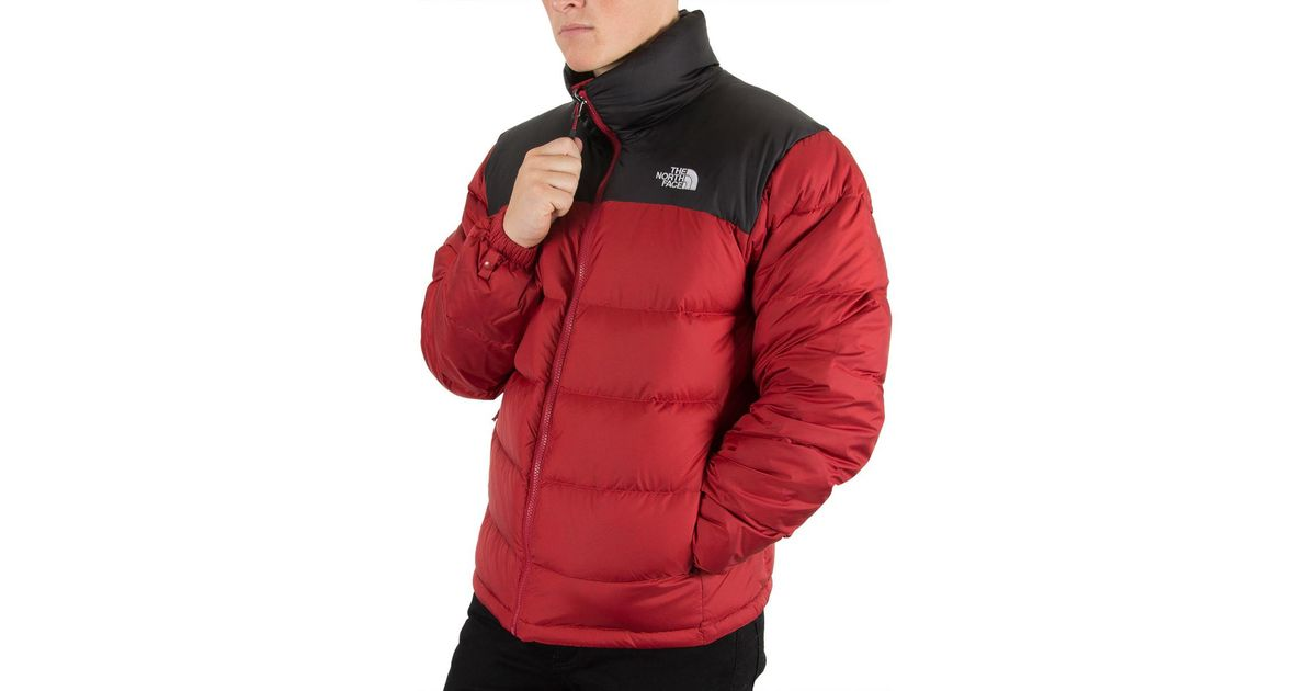 6a05f4084f44 ... cheapest the north face 1996 retro nuptse down jacket in red for men  save 27.522935779816507 lyst ...
