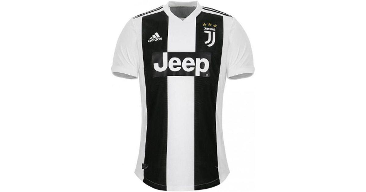 low priced 2f56b fe04e Adidas 2018-2019 Juventus Adizero Home Football Shirt Women's T Shirt In  White for men