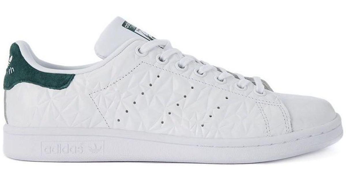 Adidas Stan Smith zapatos de hombres (instructores) en multicolor en blanco para