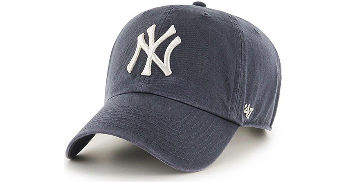 5ddd22cc 47 Brand Mlb Ny Yankees Clean Up Cap - Vintage Navy Men's Cap In Blue for  men
