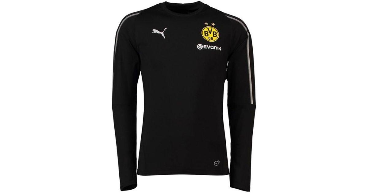 PUMA 2018-2019 Borussia Dortmund Training Sweat Top - Kids Men s In Black in  Black for Men - Lyst 8a3079d81