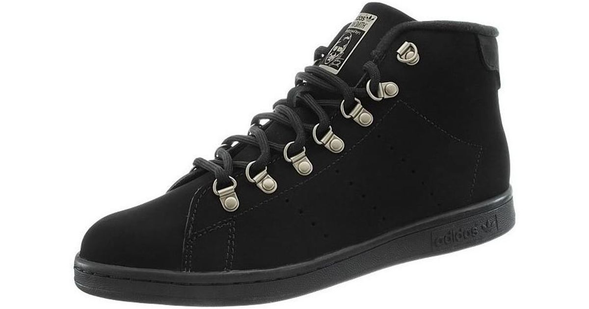 Black Adidas Top Winter Men's High Trainers Shoes In Oxonax