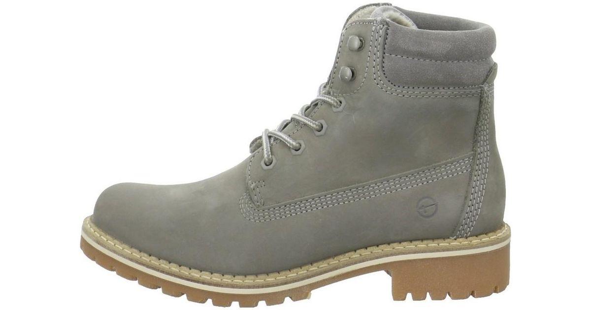 9e2492d1be7 Tamaris Gray Wo Lace-up Boots Grey Light Grey 2524221254
