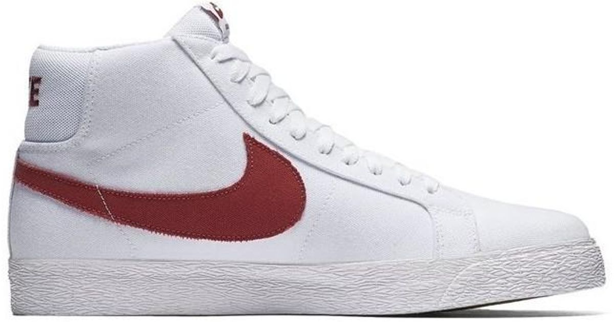 timeless design 70cdf e87a0 Nike Multicolor Sb Zoom Blazer Mid Canvas Men's Shoes (high-top Trainers)  In Multicolour for men
