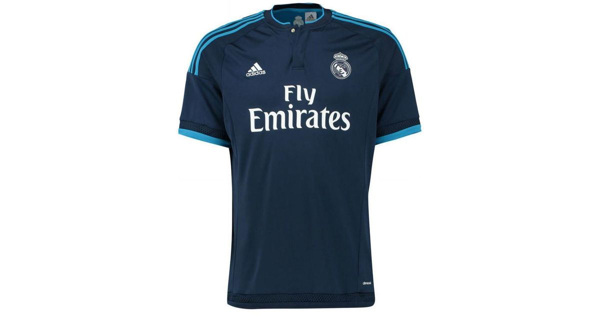 huge selection of 0d9c3 d7d37 Adidas 2015-2016 Real Madrid Third Shirt (ronaldo 7) - Kids Men's T Shirt  In Blue for men