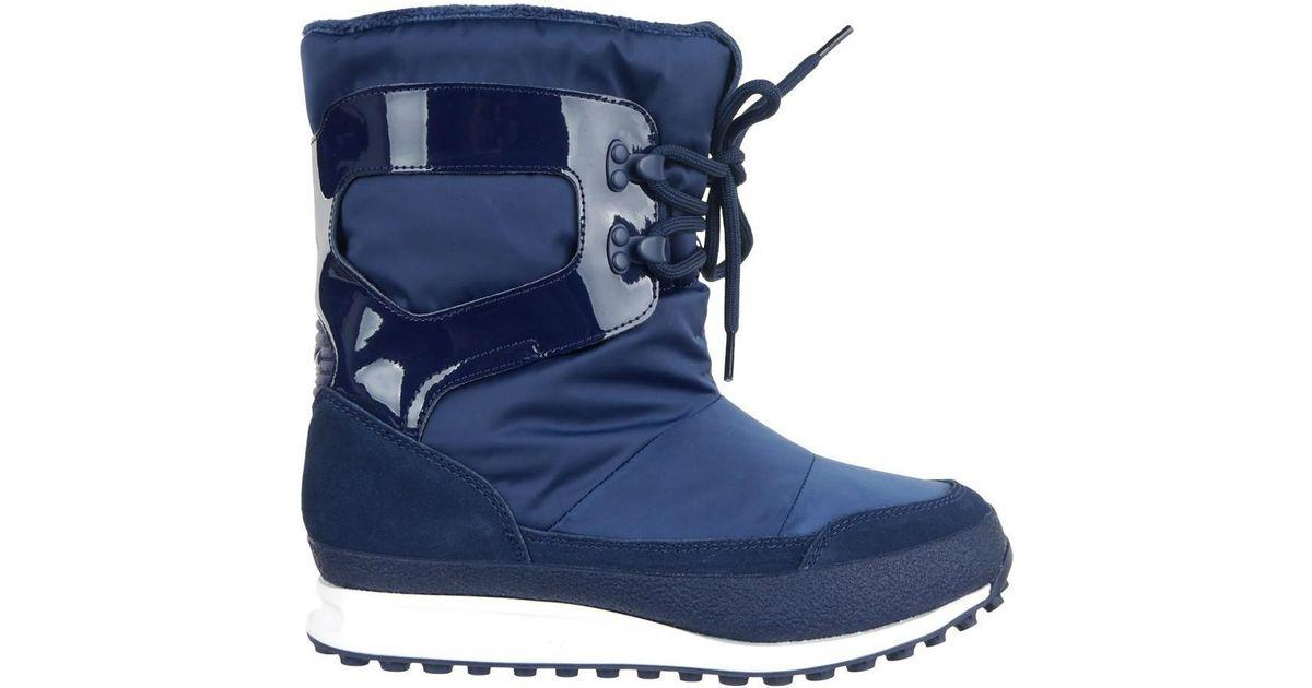 Adidas snowrush women snow boots in multicolour in blue lyst jpg 1200x630 Adidas  snow boots women e0bc76580