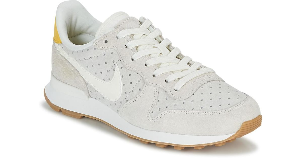 official photos c12d6 e6ee0 Nike Internationalist Premium W Women s Shoes (trainers) In Beige in  Natural - Lyst