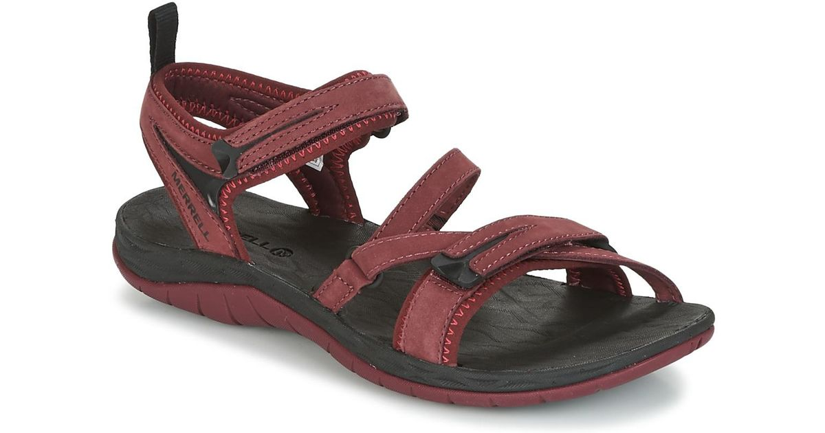 044e65ce68ff Merrell Siren Strap Q2 Women s Sandals In Red in Red - Save 22% - Lyst