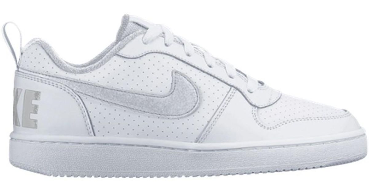 Lyst Women's Nike Borough Court ShoestrainersIn Gs Low White