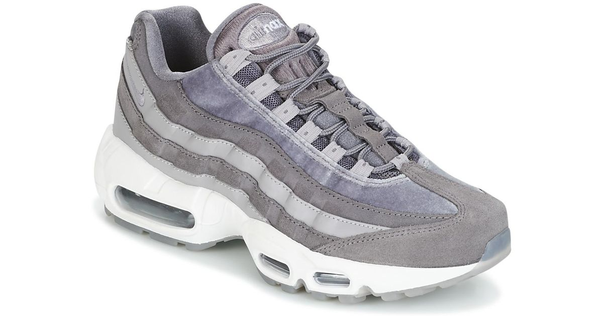 Nike Air Max 95 Lx W Women s Shoes (trainers) In Grey in Gray - Save 6% -  Lyst 5e3e4ee23