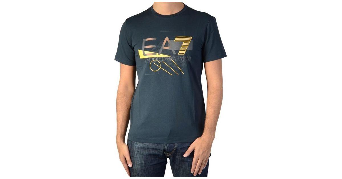 08cbdf0d EA7 T-shirt 6xpt90 Navy 1578 Women's T Shirt In Blue