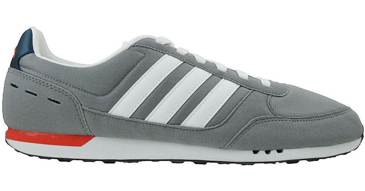 buy online 2a87c 1d916 Adidas Neo City Racer Men s Shoes (trainers) In Red in Red for Men - Lyst