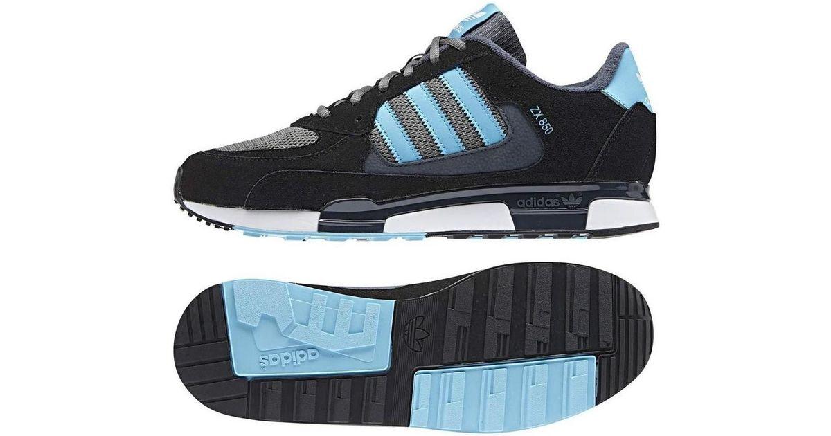 sports shoes c7522 7c38b Adidas Originals Zx 850 Men's Shoes (trainers) In Black for men