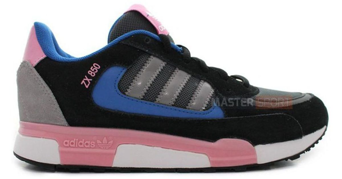 promo code 8b68a 8d526 Adidas - Zx 850 Women's Shoes (trainers) In Pink - Lyst
