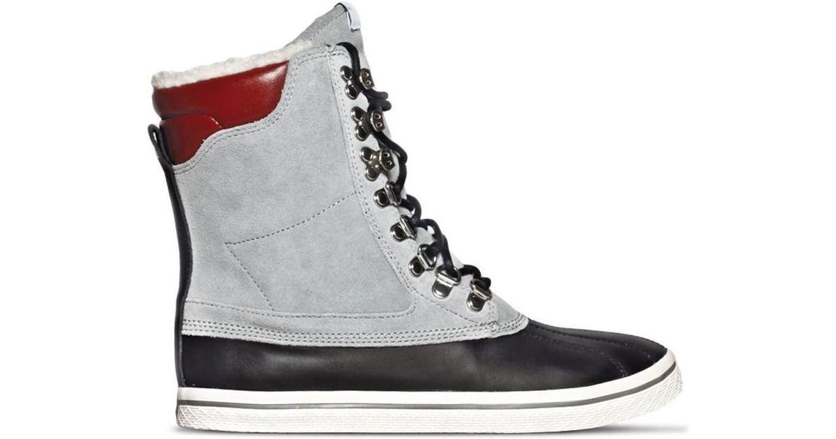 adidas Originals Vulc Star Winter Women s Snow Boots In Grey in Gray - Lyst 7020bd0bb5