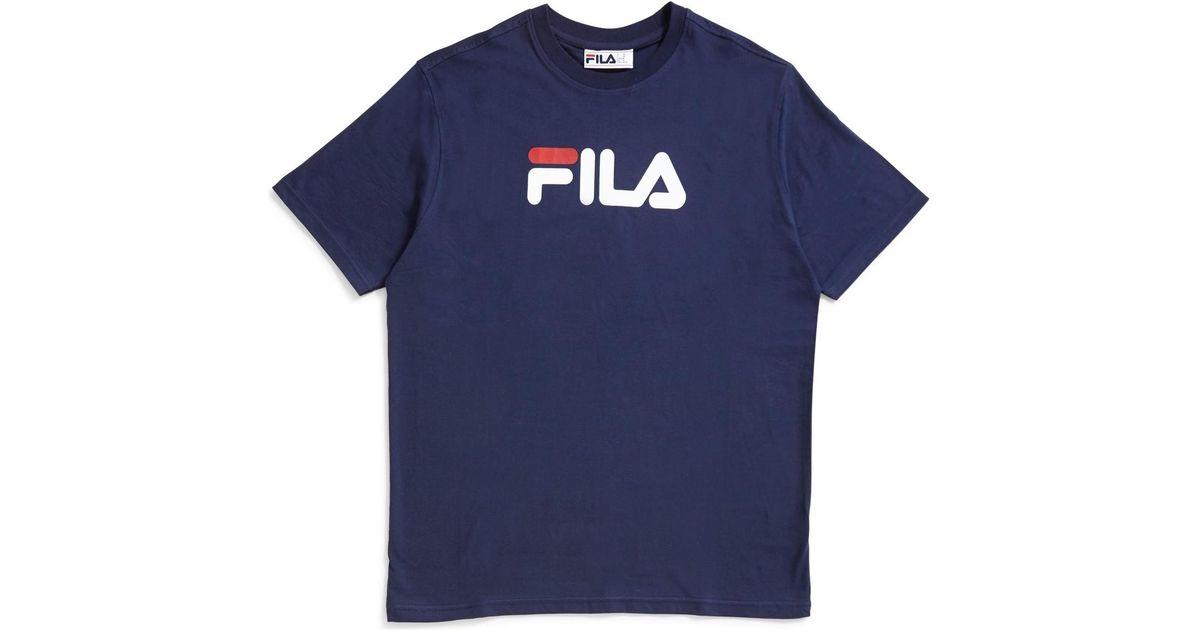 Fila Black Line Eagle T-shirt Dark Navy Men's T Shirt In Blue for men