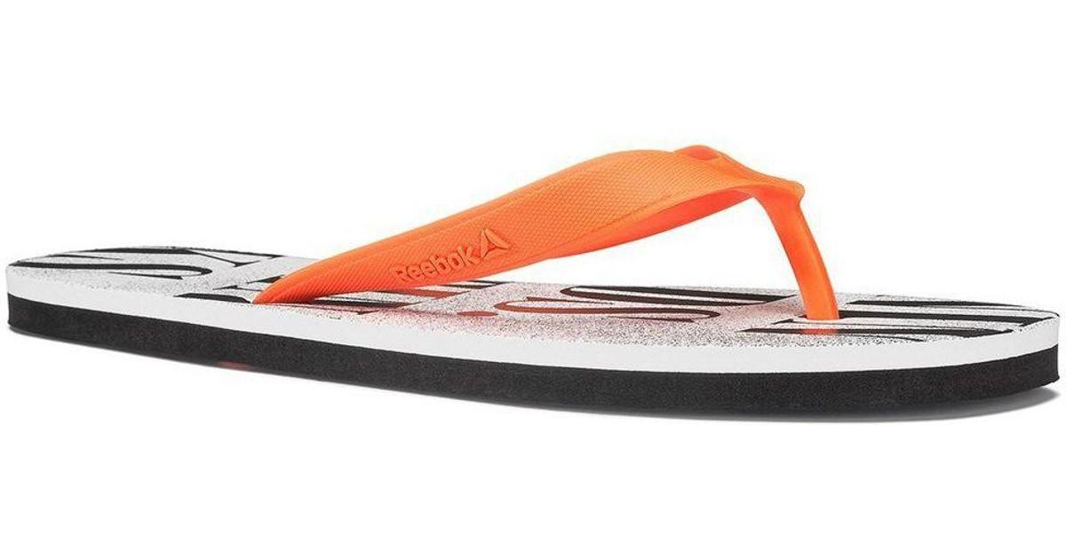 4fdd9f9863b Reebok Cash Flip Women s Flip Flops   Sandals (shoes) In Multicolour - Lyst