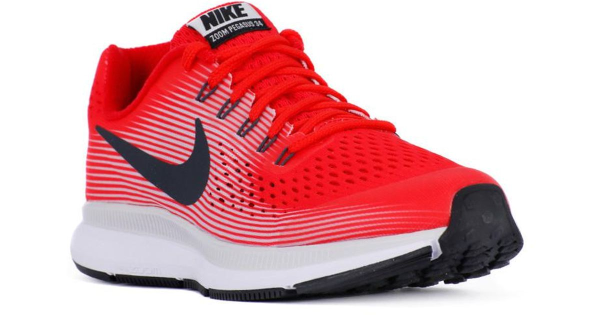 release date: c86d4 1254a Nike Zoom Pegasus 34 Gs Women's Running Trainers In Red