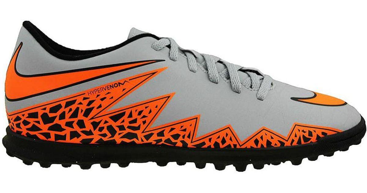 outlet store 4e7e2 c2c61 Nike - Gray Hypervenom Phade Ii Tf Men's Football Boots In Grey for Men -  Lyst
