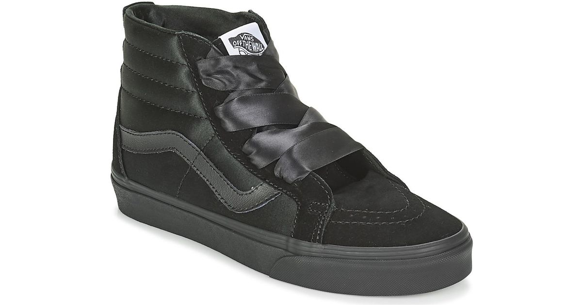 Vans Sk8-hi Alt Lace Shoes (high-top Trainers) in Black - Lyst 9411fafbe