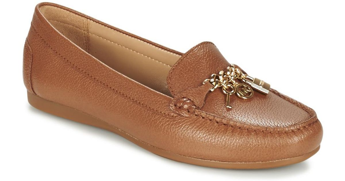 9c1d5f38f46c3 MICHAEL Michael Kors Suki Moc Women's Loafers / Casual Shoes In Brown