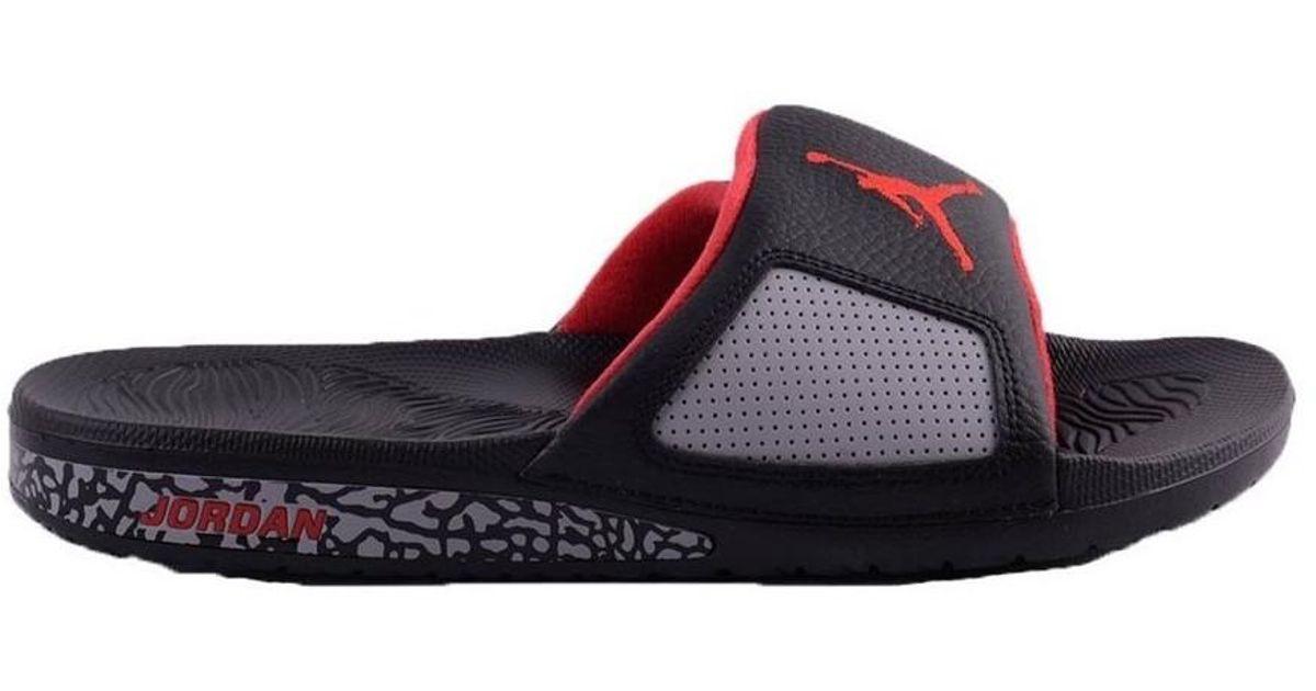 bf2962bda8fc Nike Air Jordan Hydro Iii Retro Men s Sandals In Black in Black for Men -  Lyst