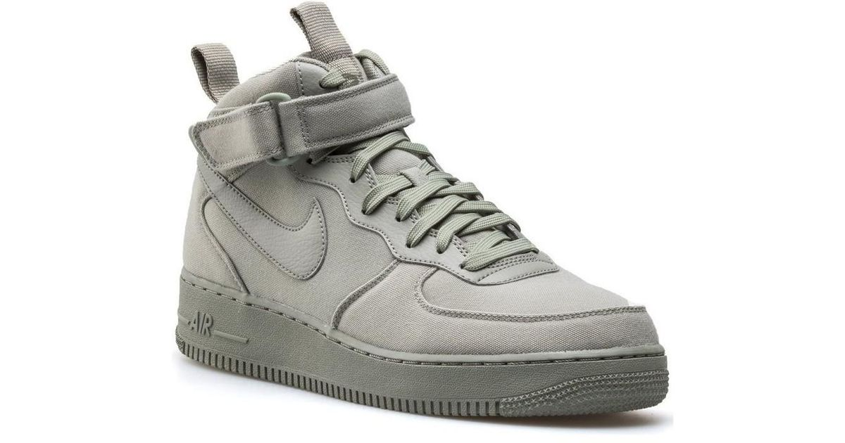 729b16640644 Nike Air Force 1 High 07 Men s Shoes (high-top Trainers) In Green in Green  for Men - Lyst