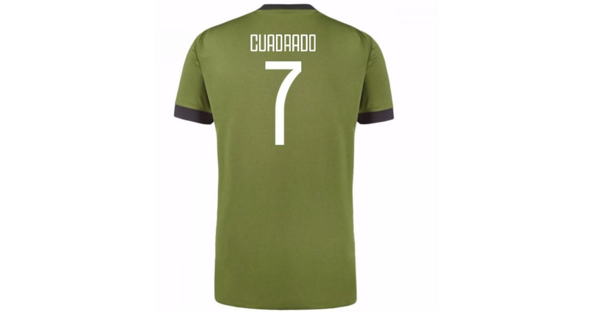 3d306806b83 adidas 2017-18 Juventus Third Shirt (cuadrado 7) - Kids Women s T Shirt In  Green in Green - Lyst