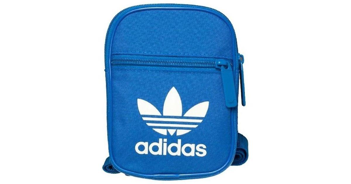bbd347a53912 adidas Festival B Trefoil Women s Shoulder Bag In Blue in Blue - Lyst