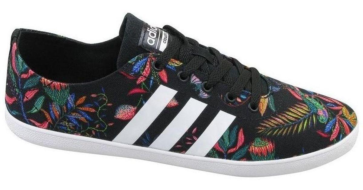 Adidas Cloudfoam Qt Te W In Scarpe Da Donna (Formatori) In W Nero 50b987