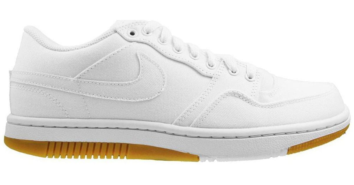 5975ac26fde5 Nike Court Force Low Men s Shoes (trainers) In White in White for Men - Lyst