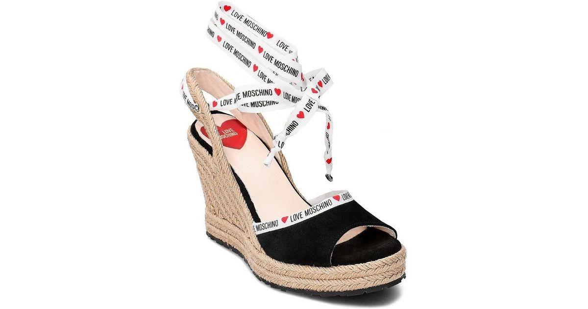 e0da2c2e323cc Love Moschino Ja1633ai07jf0000 Women's Espadrilles / Casual Shoes In Black