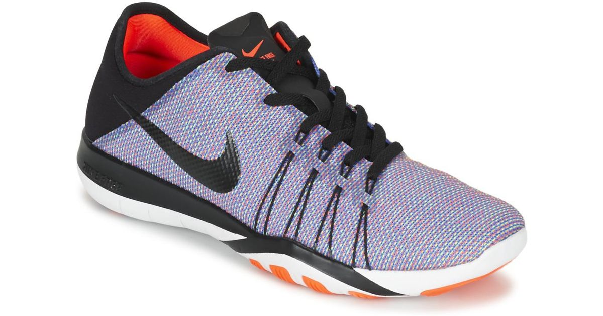 newest collection ea9c0 1c3ac Nike Free Trainer 6 Print W Women s Trainers In Grey in Gray - Lyst