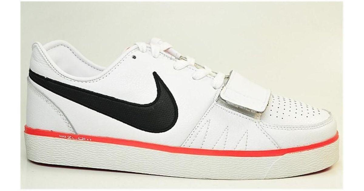 Giro de vuelta escotilla Pertenecer a  Nike Air Zoom Street Men's Shoes (trainers) In White for Men - Lyst