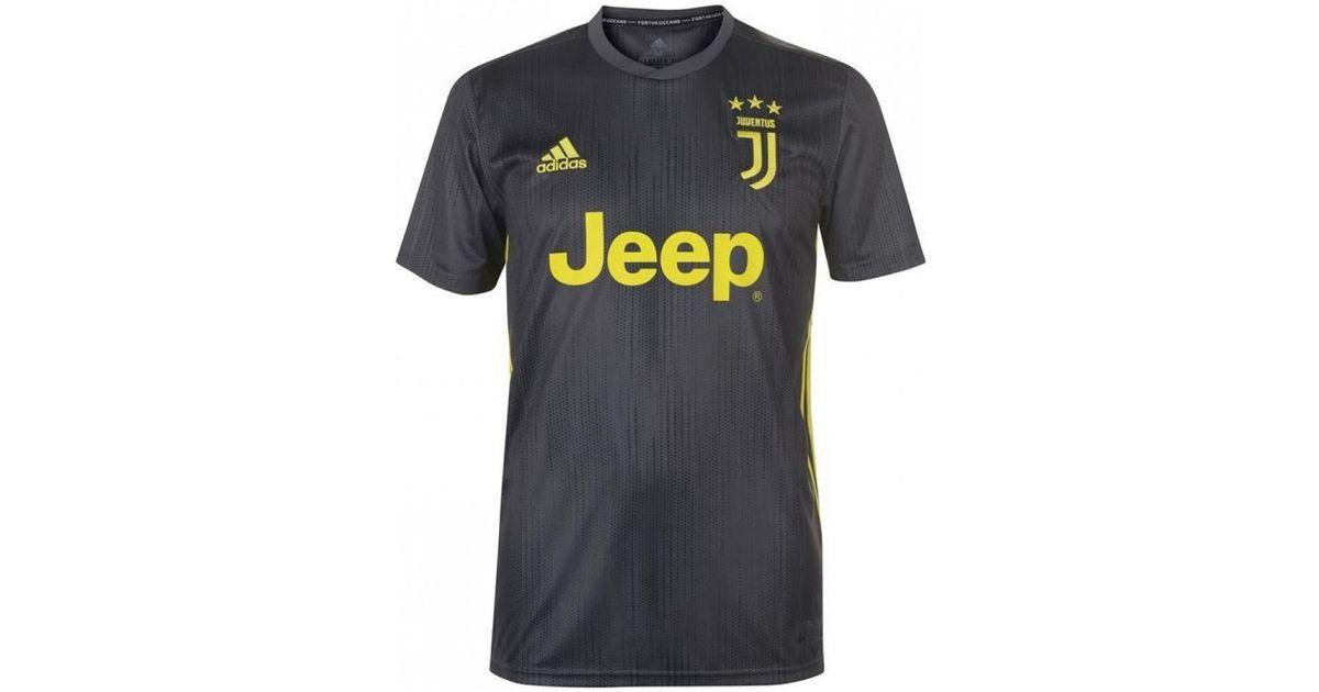 buy popular 51887 a2975 Adidas 2018-19 Juventus Third Football Shirt (ronaldo 7) Women's T Shirt In  Black