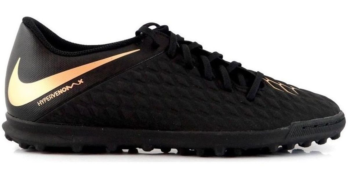 9030aa1fc459 Nike Hypervenom Phantom Club Tf Men s Football Boots In Black in Black for  Men - Lyst