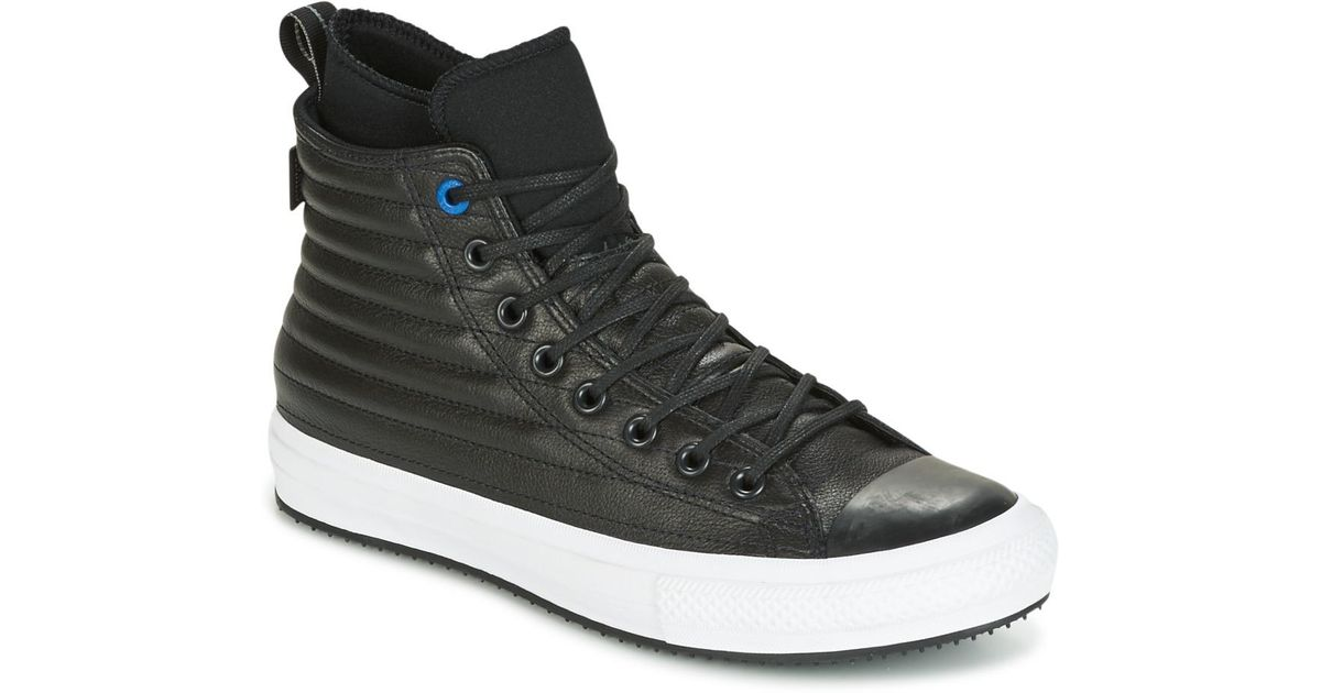 Converse Chuck Taylor Wp Boot Quilted Leather Hi Black
