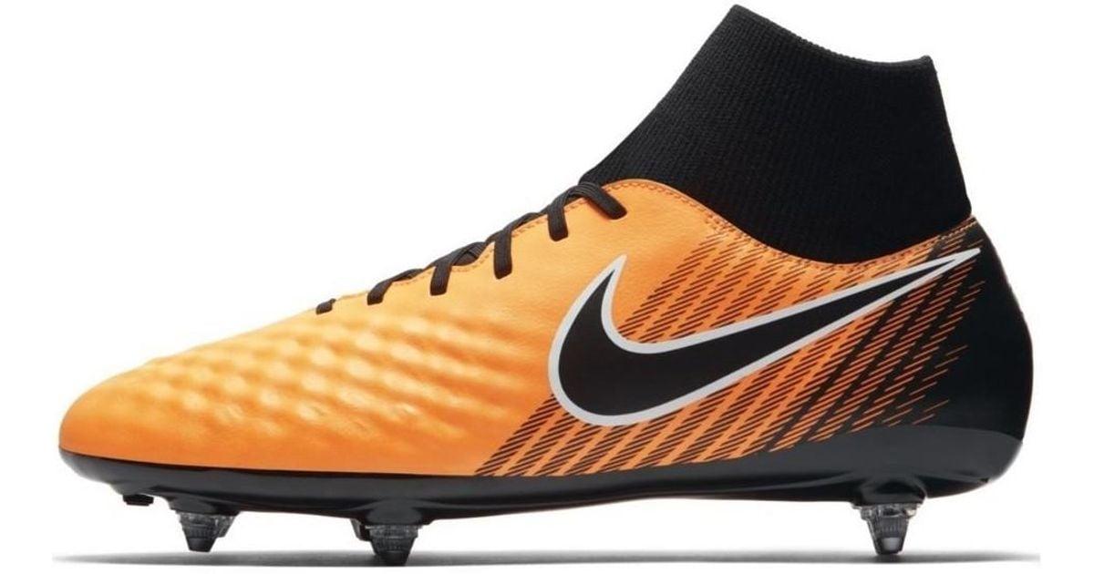 9f4c997cd Nike Magista Onda Ii Df Sg Men s Football Boots In Orange in Orange for Men  - Lyst