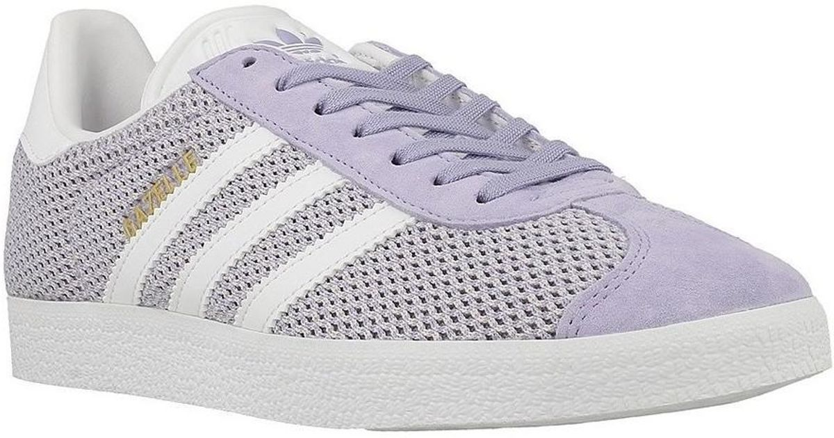 adidas gazelles women purple