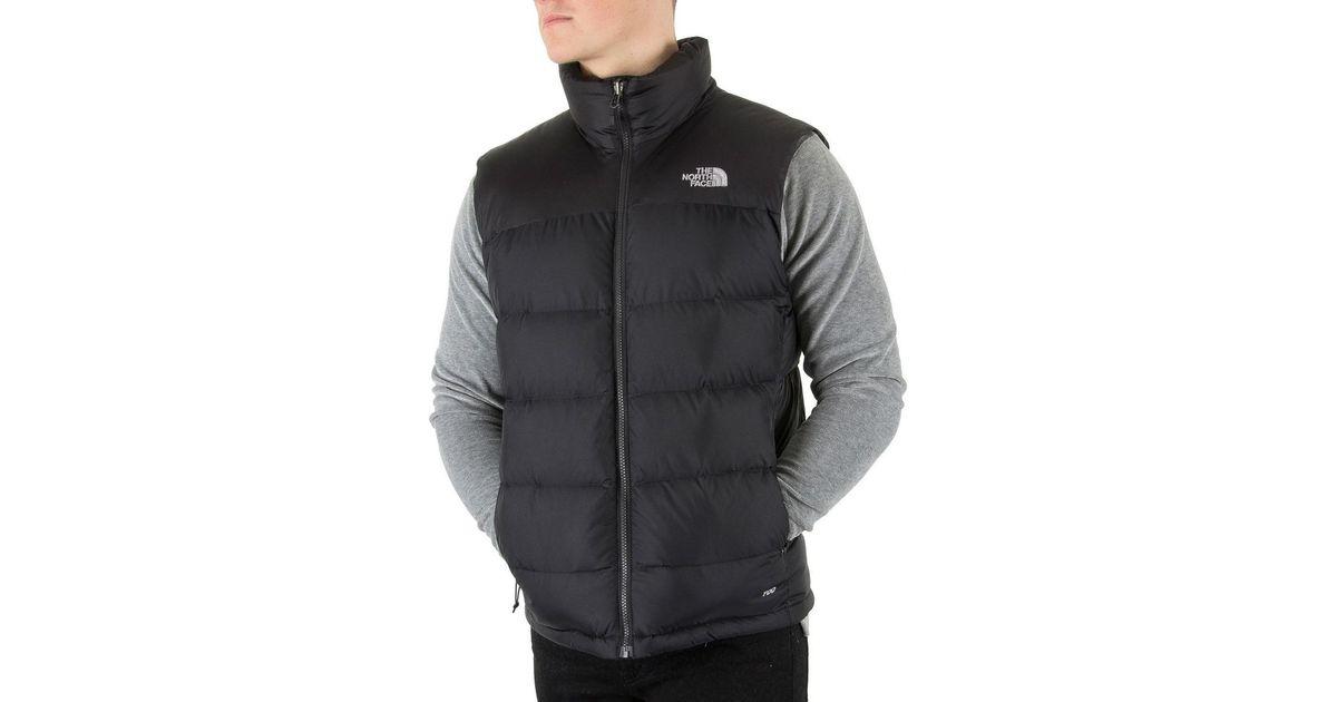 ... inexpensive the north face mens nuptse 2 gilet black mens jacket in  black in black for 0d896147b