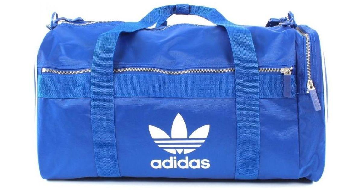 9ea805d8de Lyst - Duffle L femmes Sac de sport en bleu adidas pour homme en coloris  Bleu