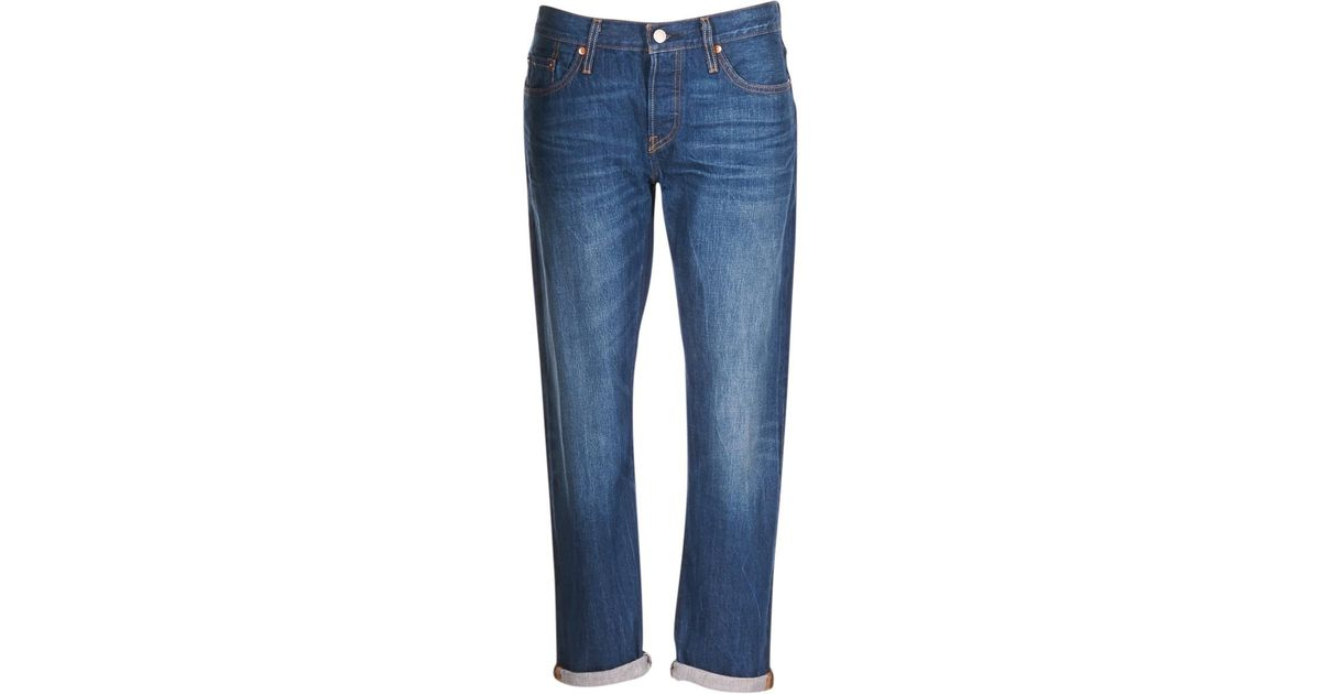 501 Blue Boyfriend In Ct Levi's Jeans Levis Women's WrBdCexo
