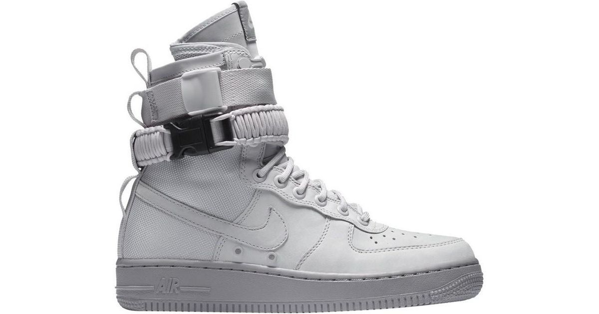 best service 2dbe2 993f4 Nike Gray Wmns Special Field Air Force 1 Women's Shoes (high-top Trainers)  In Grey