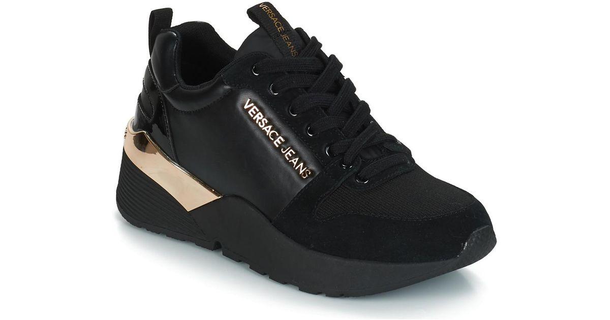 Donies Coloris En Noir Jeans Black Versace Chaussures Femmes rBCeodx