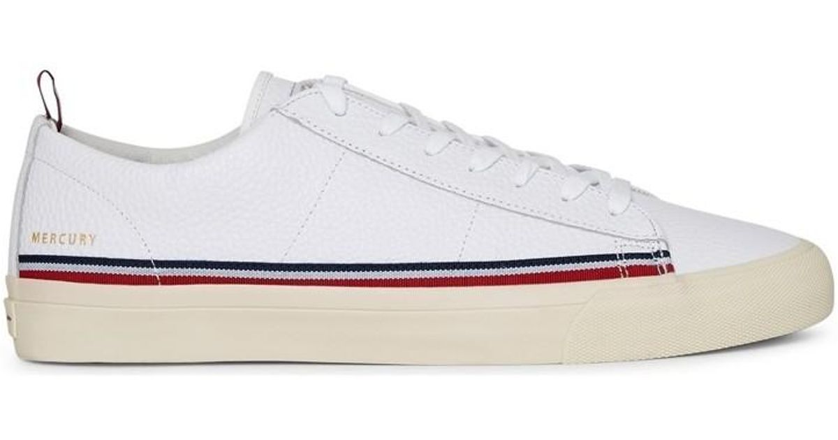 a324371423784 Champion Mercury Low Leather Plimsolls White Men s Shoes (trainers) In White  in White for Men - Lyst