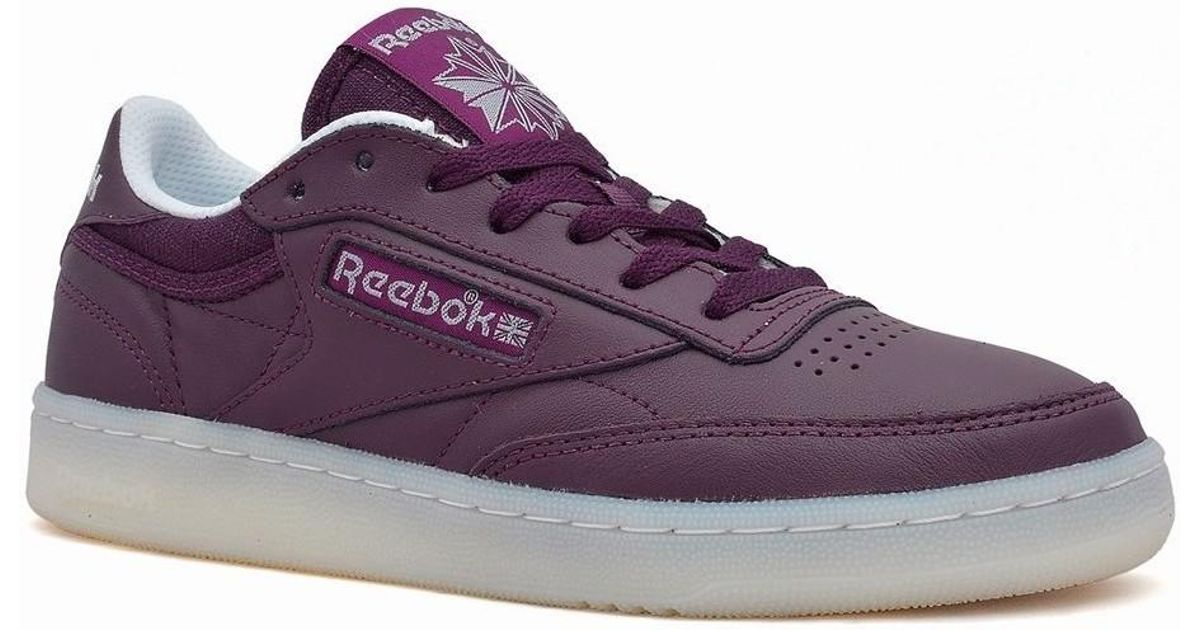 3e0a8a1480a6c1 Reebok Classic Club C 85 Otc Women s Shoes (trainers) In Purple in Purple -  Lyst